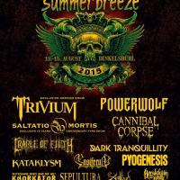 Trivium confirmados para el festival Summer Breeze 2015