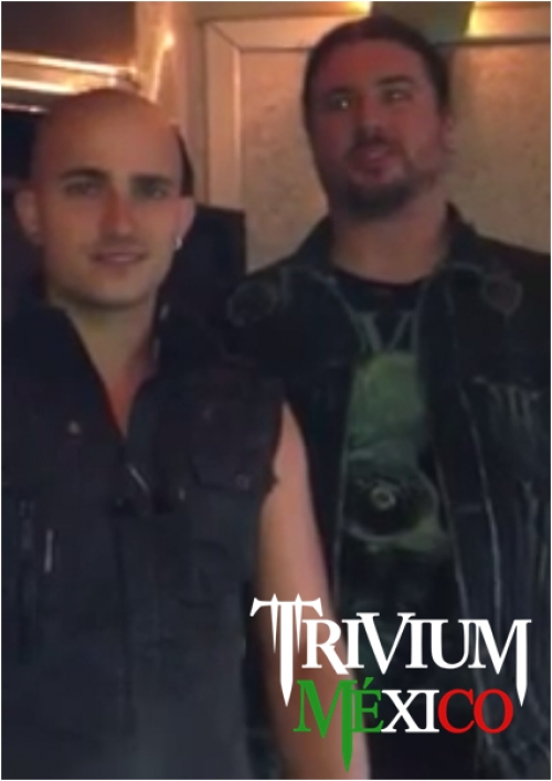 [videos] Trivium nos invita a los shows en México y Latinoamérica